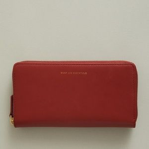 WANT Perth Continental Wallet in Brownstone